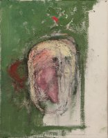 William Utermohlen Erased Self Portrait, 1999 45.5 x 35.5 cm