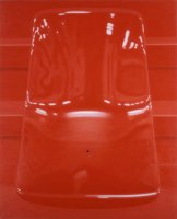 Ronald Bowen - Siège rouge1997 Red Seat 1997 Oil on canvas 100x81 cm