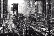 Michael Goro - Chicago Blues 2014 Etching/Engraving 24x36 inches 61x91 cm