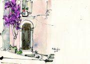bougainvilia_and_old_door_corfu_old_town_ink_and_watercolour_on_canvas_20x29cm-2018.jpg