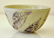 Chloe Peytermann Olive Brun Bowl 2015, glazed colored clay with engobe