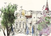 corfu_catholic_duomo_on_city_hall_square_ink_and_watercolour_on_paper_30_5x43_cm_2018.jpg