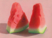 Slices of Watermelon VI 2011 colored pencil on paper 15.9 x 21.5 cm