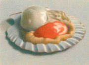 Ronald Bowen - Coquille Saint-Jacques / Scalop in the Shell 2011, Color pencil on paper 15,9 x 21,5 cm