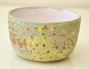 Chloe Peytermann Brun de Terre Bowl 2015, glazed colored clay with engobe