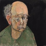 William Utermolhen Self Portrai (Green), 1997 35.5 x 35.5 cm