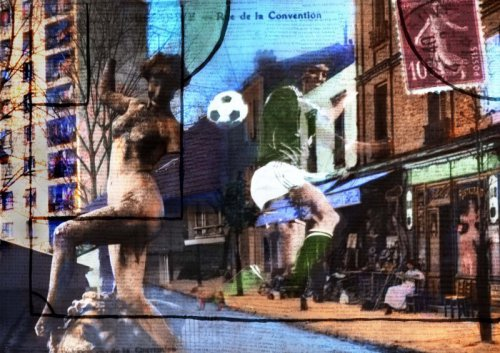 3. Vivian van Blerk - Football dans la Ville (La Courneuve), 2010, color photography, edition 8,